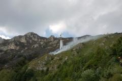 Incendio boschivo monte Bondone