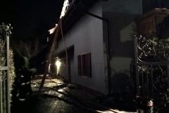 Incendio tetto Civezzano