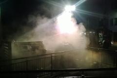 Incendio cassonetto Civezzano