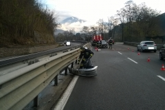 Incidente stradale SS47