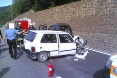 Incidente stradale SS47