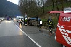 Incidente stradale Valle