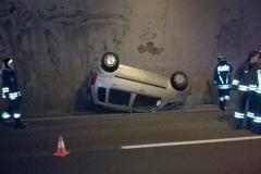 Incidente stradale galleria Crozi II