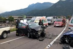 Incidente stradale SP83