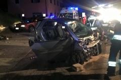 Incidente stradale loc. Mochena