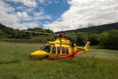 Supporto elicottero loc. Bosco