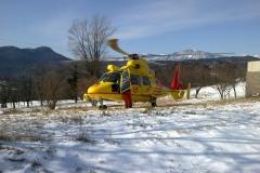 Supporto elicottero loc. S. Agnese