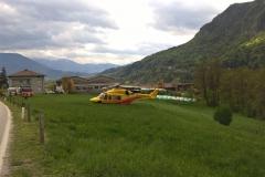 Supporto elicottero Civezzano